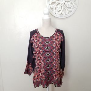 Johnny Was size M embroidery blouse